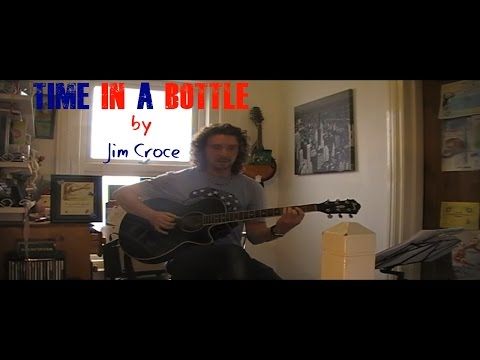 Time In A Bottle finger style cover and guitar lesson