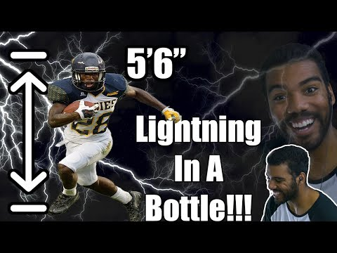 The Shortest Running Back In The NFL!!!- Tarik Cohen College Highlights [Reaction] | Sharpe Sports