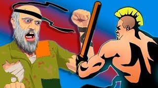 Бомж играет в Shadow Fight 2 без доната серия 1