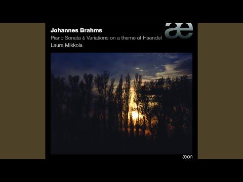 Variations On a Theme of Haendel, Op.24: 3