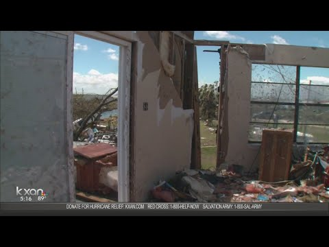 'Get up and get busy' Rockport family hopeful after Harvey
