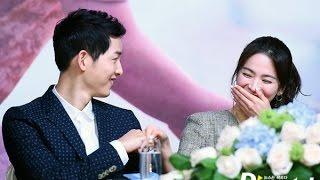 宋仲基 宋慧乔 송중기 송혜교 song joong ki song hye kyo comrade moment dots hk press conference