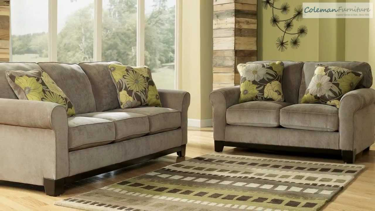 Riley Slate Living Room Collection From Signature Design