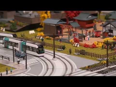 Kato Unitram/Unitrack Model Tram & LRV Layout - ユニトラム 株式会社カトー
