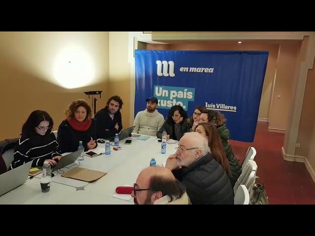 El Consello das Mareas se reúne en Santiago