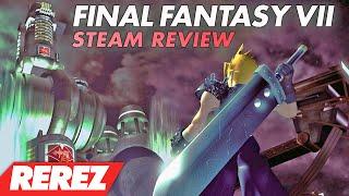 Final Fantasy 7 Steam Release Comparison & Review - Rerez