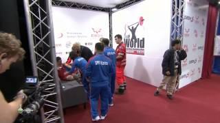 OM Yun Chol 2j 170 kg cat. 56 World Weightlifting Championship 2013