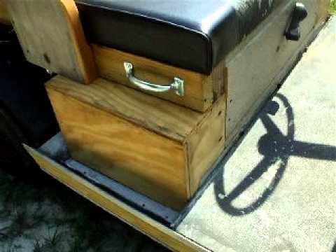 custom wood body golf cart antique replica truck