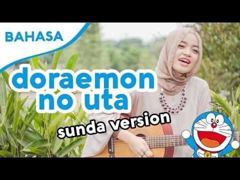 Belajar Bahasa Sunda #1 - Lagu Pembuka Doraemon Doraemon No Uta - (Cover by Fadilla Indriyanita)