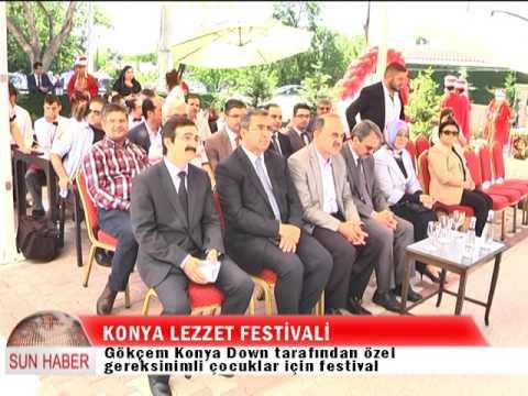 Konya Lezzet Festivali Açılış Haberi