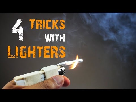 Thumbnail: 4 Awesome Tricks with Lighters