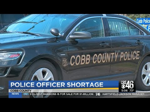 Police officer shortage in Cobb County
