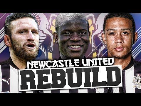 REBUILDING NEWCASTLE UNITED!!! FIFA 18 Career Mode