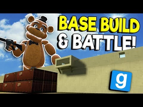 BASE BATTLE & BUILD WITH ZOMBIES! - Garry's Mod Survival Gameplay - Gmod Zombie Base Building thumbnail