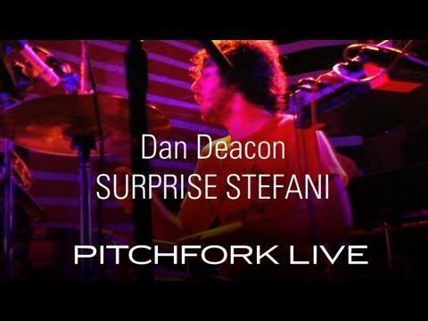 Dan Deacon - Suprise Stefani - Pitchfork Live