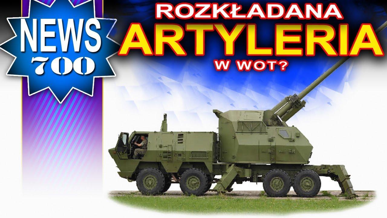 Rozkładana artyleria w World of Tanks?