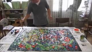 2012都立向丘高校公開講座 やさしい美術「誰にもできる抽象表現」