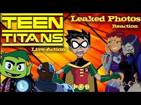Titans Live Action Series | Starfire Photo's Reaction