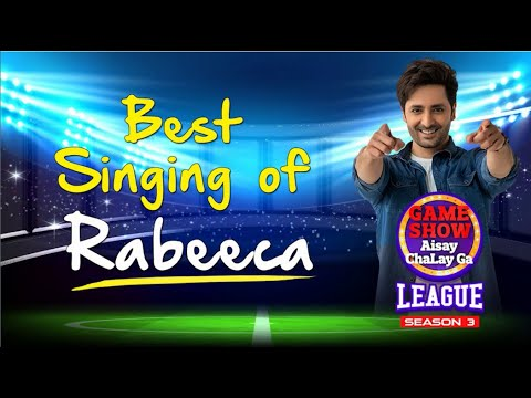 Download Rabeeca Best Singing In Game Show Aisay Chalay Ga League Season 3 | Danish Taimoor Show | TikTok