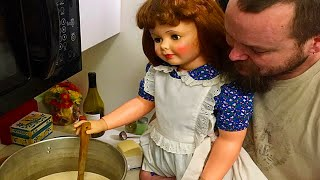 This Couple is RAISING Dolls as