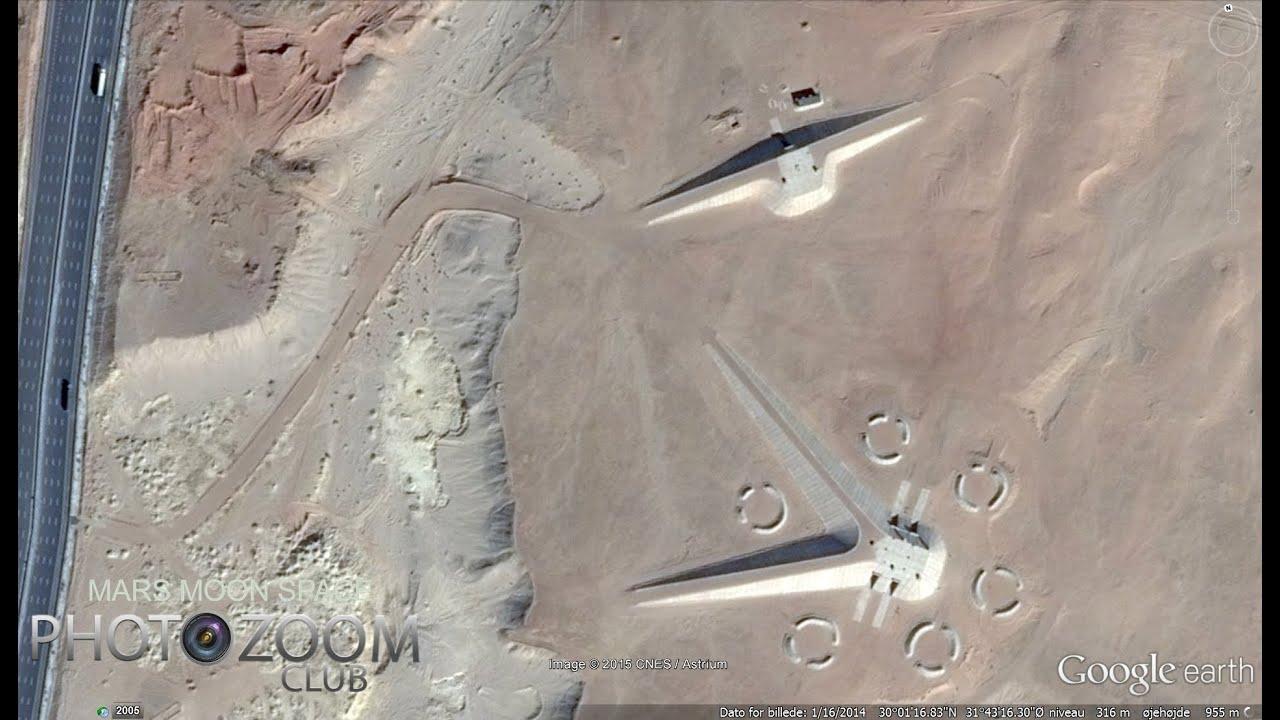 Egyptian secrets in the desert. Alien Base, ufos ? Secret ...