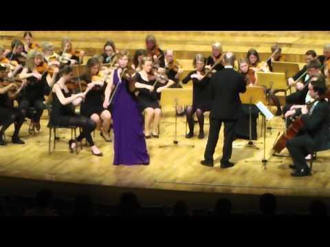 Ingesund at Murcia Grieg Solveigs sang, soloist Ellen Nisbeth, Solistpriset 2012