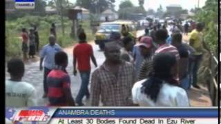 Over 15 Bodies Found Dead In Ezu River