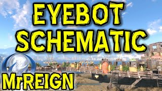 Fallout 4 Automatron DLC - EyeBot Schematic Location & Tutorial