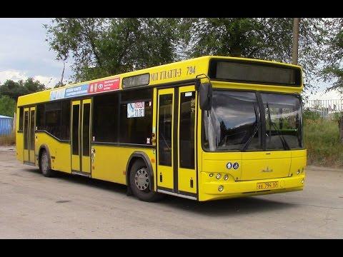 Обзор городского автобуса МАЗ 103 г Тольятти