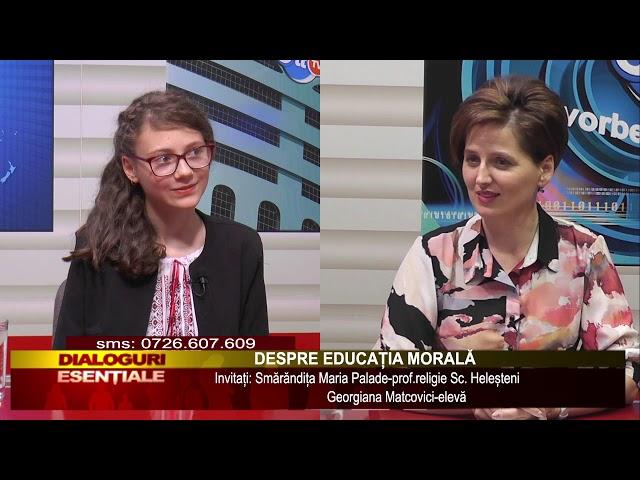 BIT TV DIALOGURIE ESENTIALE - DESPRE EDUCATIA MORALA