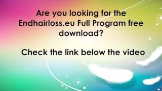 End hair loss program free download endhairloss.eu