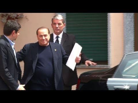 Former Italian PM Berlusconi begins community service