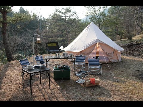 Awai Camp Site| NORDISK アスガルド 12.6 テント & snowpeak 焚火台の組み立て