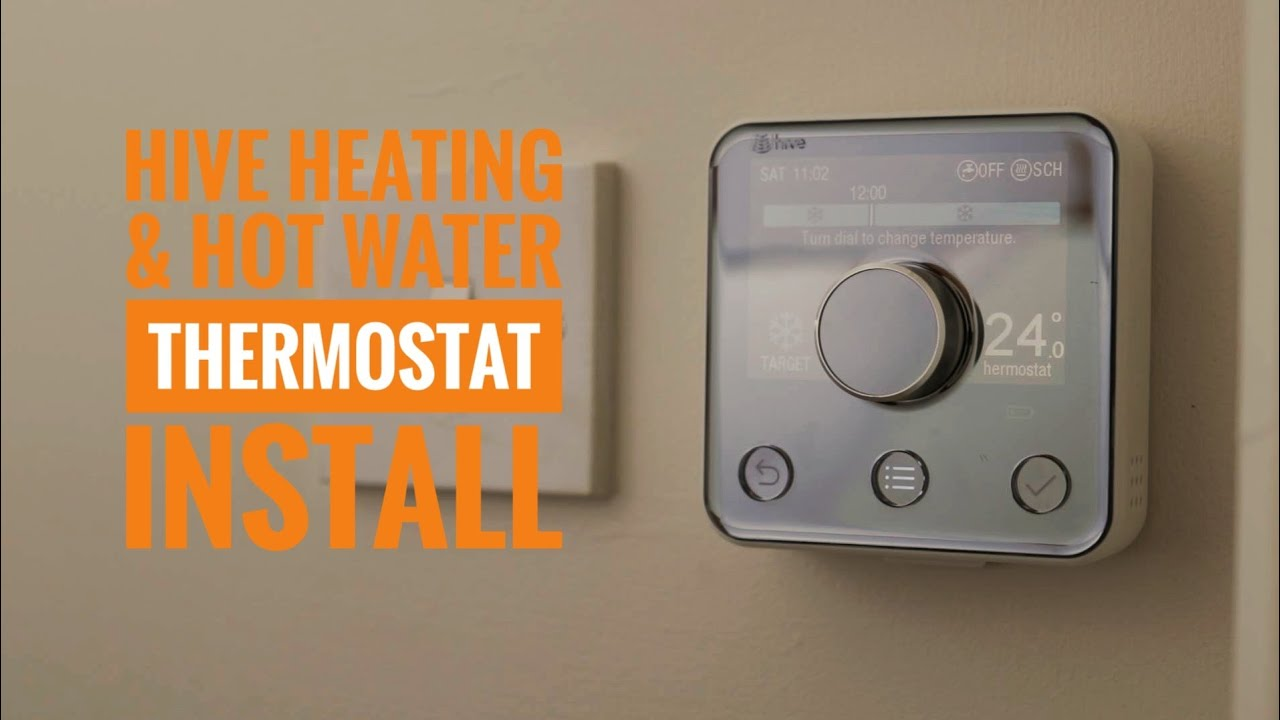 Hive Active Heating And Hot Water Thermostat Unboxing Self Installation First Impressions Youtube