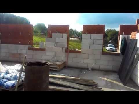 видео: Дом из газобетона с облицовкой из кирпича Уфимский р н с  Лекоревка