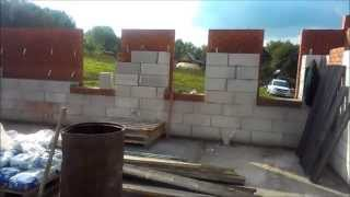 Дом из газобетона с облицовкой из кирпича Уфимский р н с  Лекоревка(Строительная компания