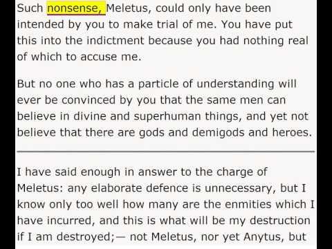 Apology by Plato - Enhanced Version    Harvard Classics - Volume 2