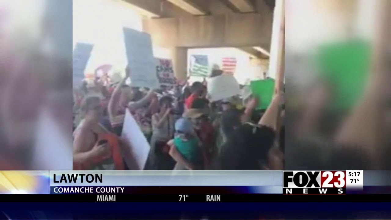 Video: CAIR-Oklahoma Joins Protest Against Migrant Child Detention at Fort  Sill