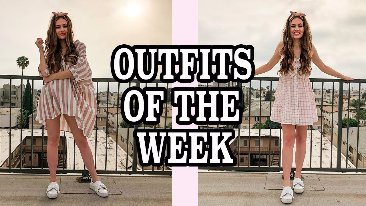[VIDEO] - Spring Outfits of the Week Lookbook! Spring Dresses OOTW! 1