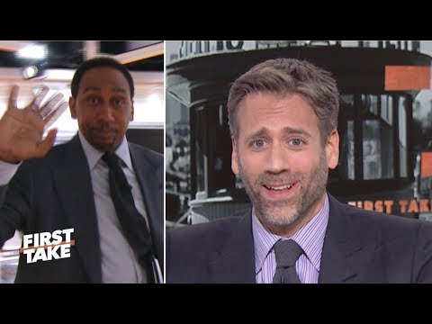 Stephen A. walks off set after Max abandons Tom Brady 'cliff' theory  | First Take