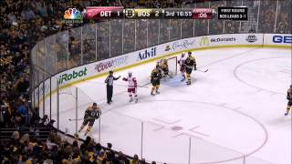 Bruins-Red Wings Game 5 ADSF Highlights 4/26/14