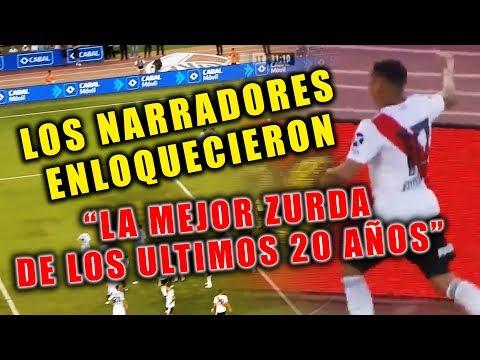 ASÍ SE NARRÓ EN ARGENTINA EL GOLAZO DE JUAN FERNANDO QUINTERO VS RACING