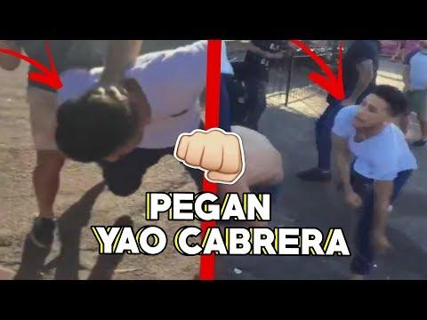 Le PEGAN a YAO CABRERA VIRAL en URUGUAY...