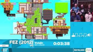 Fez by Vulajin in 28:30 - Awesome Games Done Quick 2016 - Part 32