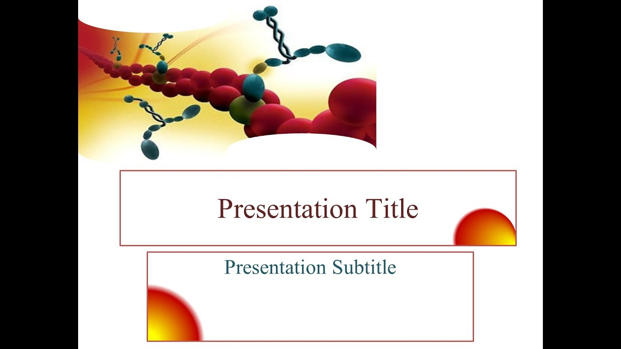 Free biochemistry genetics powerpoint theme youtube toneelgroepblik Images
