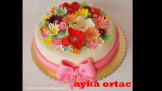Pasta süslemeleri photo slayt - Cake decorations photo slide - Торт украшения фото слайд