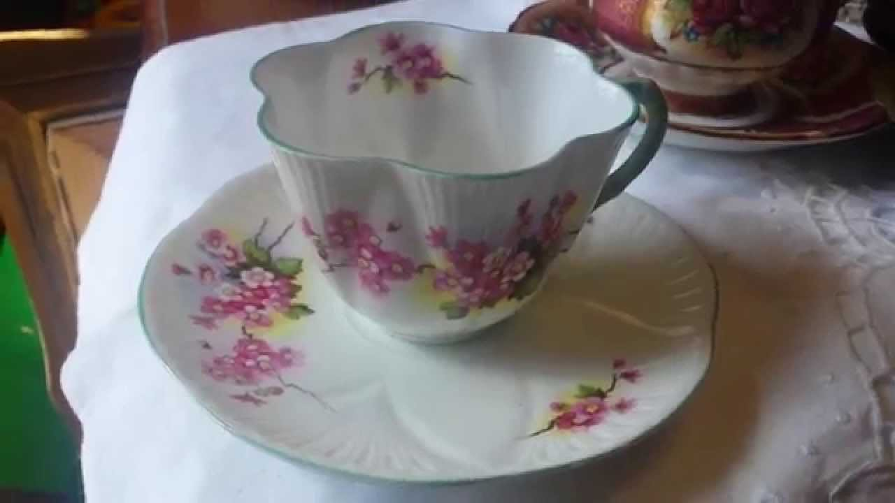 What is Shelley England Vintage Fine Bone China Cup Saucer worth?
