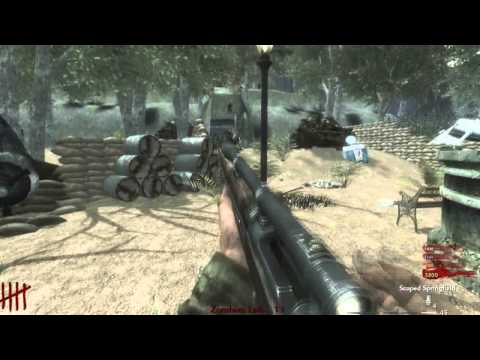 Call of Duty WaW Nazi Zombies - 4 Player Coop(SS Tower)