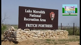Lake Meredeth National Ręcreation Area - FREE Camping in Texas Panhandle