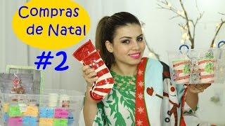 Compras de Natal #2   Louças e coisas fofas   Paloma Soares